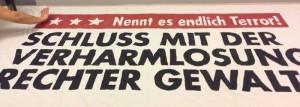 Köln gegen Rechts - Antifaschistisches Aktionsbündnis demonstriert am 4. September 2016 gegen rechte Gewalt und Terror in Köln.