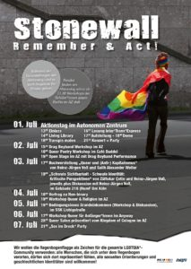 Stonewall - Remember & Act