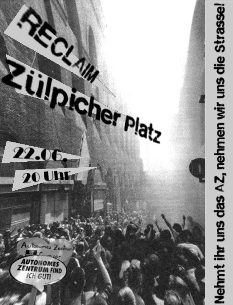 RECLAIM Zülpicher Platz