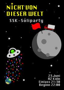 Nicht von dieser Welt – Ssk Soli-Party @ Autonomes Zentrum Köln