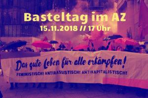 Basteltag für die Demo
