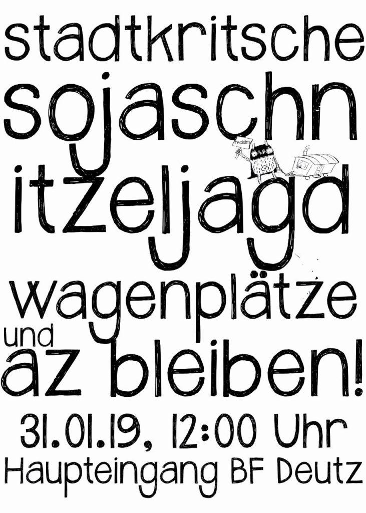 Stadtkritische (Soja)Schnitzeljagd