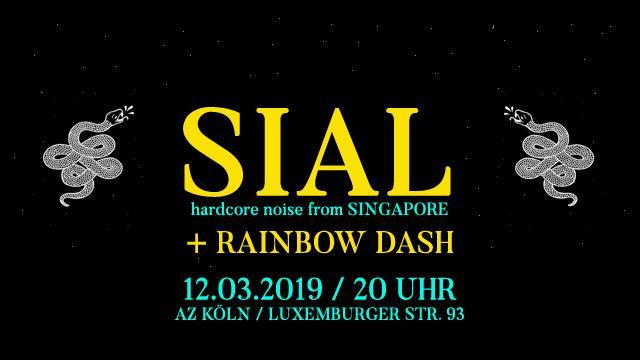 HC-Punk Konzert: SIAL + RAINBOW DASH