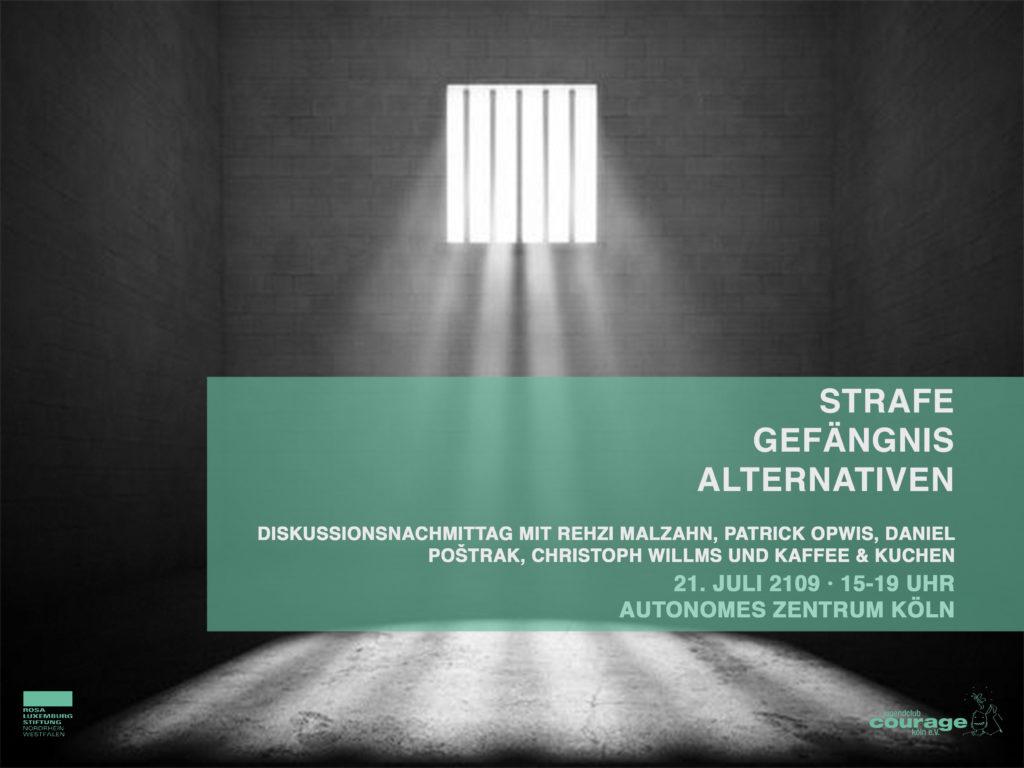 Strafe - Gefängnis - Alternativen