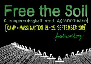 Spätina Kneipe: Infoveranstaltung zu Free the Soil