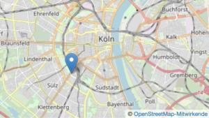 Karte AZ Köln